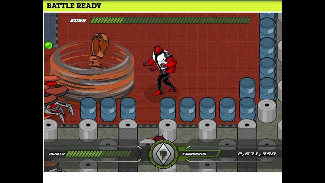 Ben 10 Battle Ready Unblocked Games