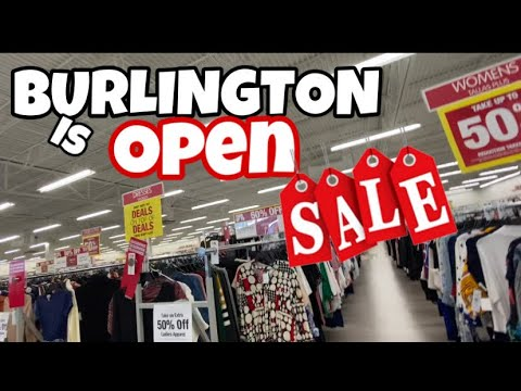 Burlington Shopping 2020 | Burlington Reopening Markdowns