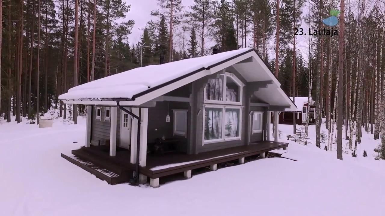 9a5b0d0f19c4 Ξύλινα Φινλανδικά Σπίτια ΚΟΡΜΟΣ - YouTube
