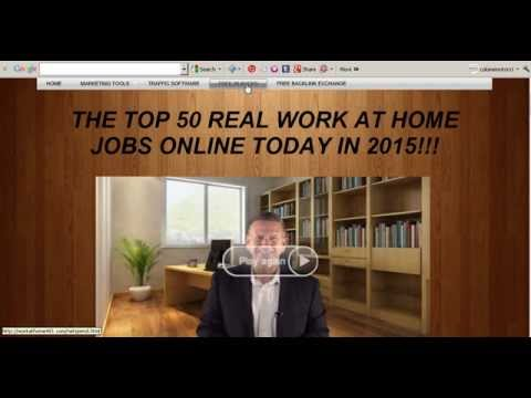 Top 10 work from home jobs real work at home job 2017 Best how to make money from home free website