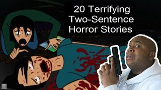 The Scariest Two Sentence ANIMATED Horror Stories - TRY NOT TO GET SCARED CHALLENGE #14