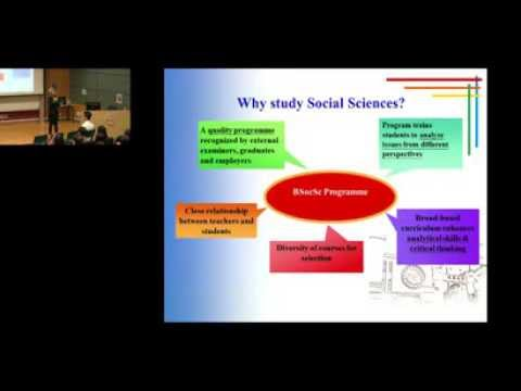 Lingnan University Info Day 2013_Programme Introduction_Bachelor of Social Sciences (Hons)
