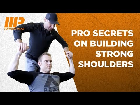 How To Build Strong Shoulders with Pro Trainer Andy O'Brien