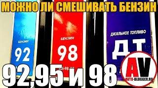 видео 92-й или 95-й бензин. Что экономнее?