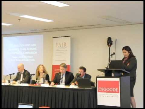 PPSE Conference - Panel 1 - October 26, 2015