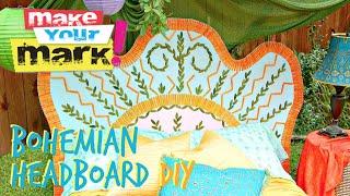 How to: Bohemian Headboard
