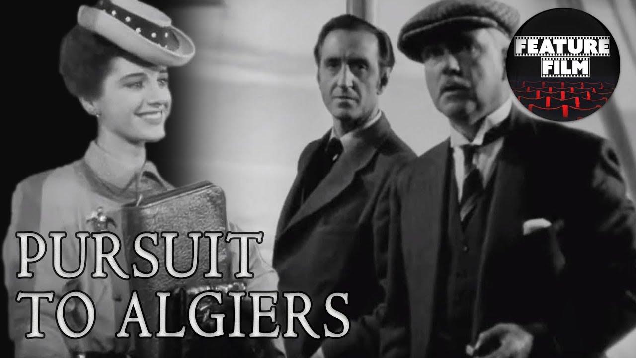 Download SHERLOCK HOLMES MOVIES | PURSUIT TO ALGIERS (1945) full movie | Basil Rathbone | classic movies