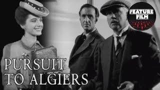 SHERLOCK HOLMES | PURSUIT TO ALGIERS (1945) full movie | Basil Rathbone | the best classic movies