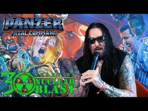 PÄNZER - 'Fatal Command' - The Album Artwork (OFFICIAL TRAILER #1)