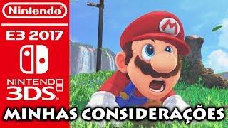 Minhas considerações quanto a E3 2017 da Nintendo