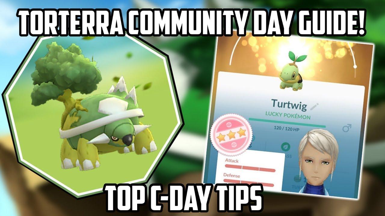 Torterra Community Day Guide For Pokemon Go! NEW EVENT HOURS
