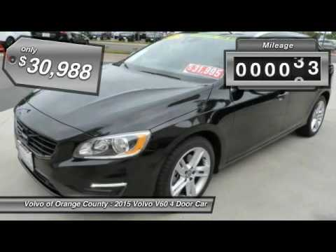 Volvo Of Orange County >> 2015 Volvo V60 Santa Ana Ca 12589u Youtube