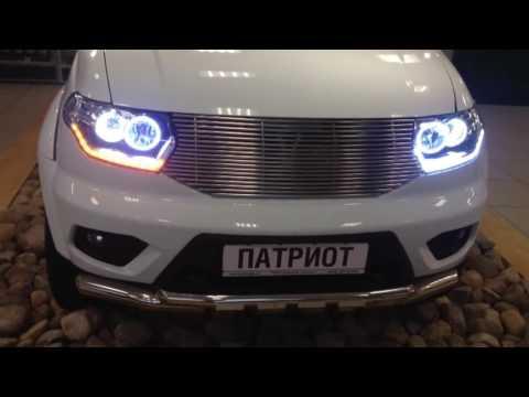 Динамичный сигнал поворота на УАЗ Патриот