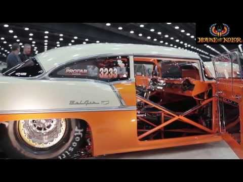 The 1955 Chevrolet Super BelAir Iced in House Of Kolor