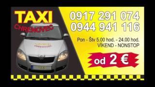 Taxi chrenovec reklama