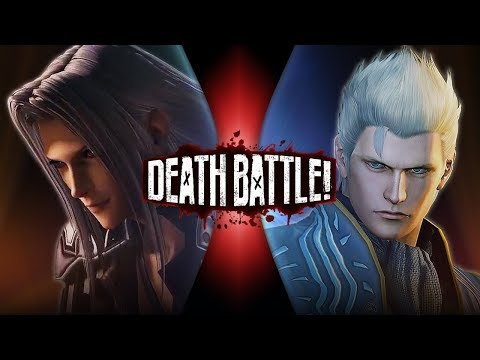 Sephiroth VS Vergil (Final Fantasy VS Devil May Cry) | DEATH BATTLE!
