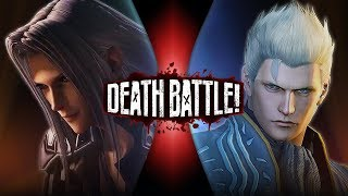 Sephiroth VS Vergil (Final Fantasy VS Devil May Cry) | DEATH BATTLE! thumbnail