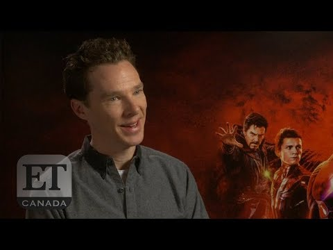 Benedict Cumberbatch On Eating Lunch With Robert Downey Jr.
