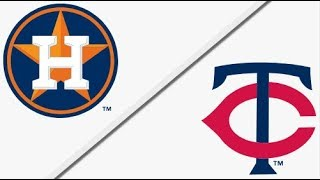 Houston Astros vs Minnesota Twins | Full Game Highlights | 4/11/18