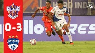 Hero ISL 2018-19 | FC Pune City 0-3 Bengaluru FC | Highlights
