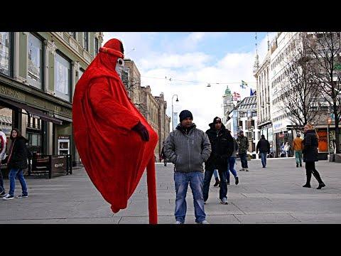Levitating Man Trick Revealed