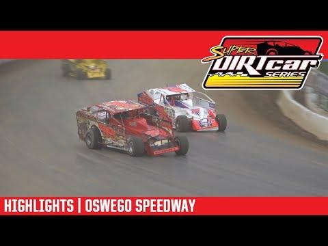 Super DIRTcar Series Big Block Modifieds Oswego Speedway October 7, 2018 | HIGHLIGHTS