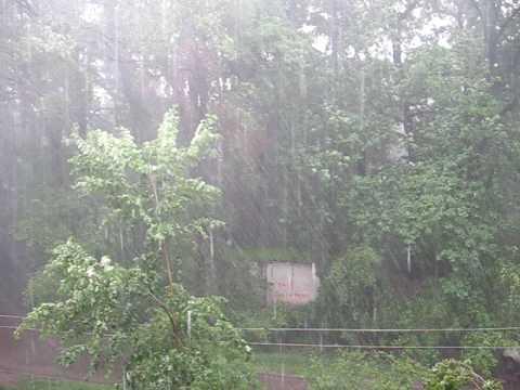 Almaty Rainstorm
