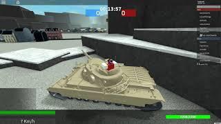 Roblox Tankery: Conqueror Mark 2 Heavy tank