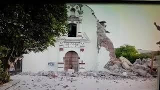 Juchitán afectada por sismo de 7 de septiembre en México