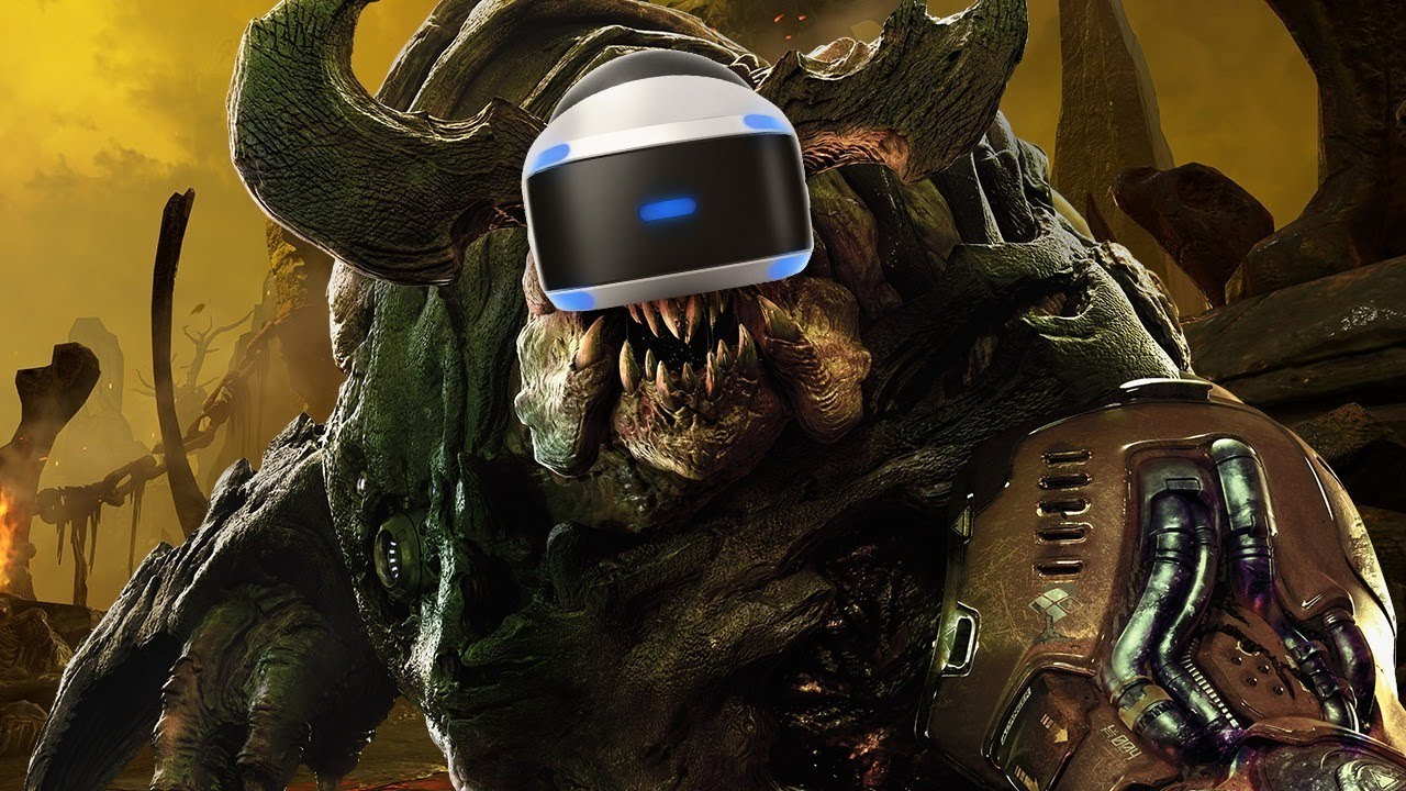 Doom VFR Gameplay – Hands-On Reactions to Doom in Virtual Reality
