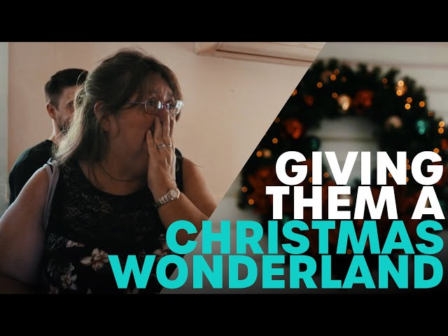 Giving Them A Christmas Wonderland ♥   B105