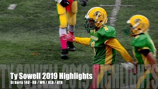"""#1 Ty """"The Forest"""" Sowell - Wide Receiver - Running Back - OLB - ATH"""