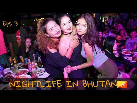 Eps 3 (Bhutan Series) : Nightlife in Bhutan 🇧🇹 | Maine Bhi Singing Kar Li 😍😍