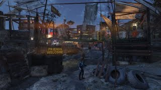 Fallout 76 - Raider town (camp) - by Murphy