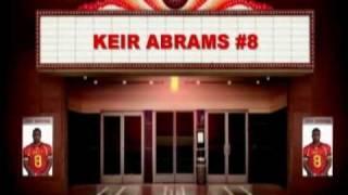 FB/LB #8 Keir Abrams, Class of 2011