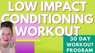 40 MINUTE WORKOUT |CARDIO - LOWER BODY STRENGTH - CORE  FOCUS  LOW IMPACT CONDITIONING EXPRESS | AFT