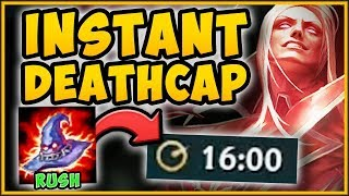 WTF! INSTA DEATHCAP RUSH STRATEGY ON VLAD IS 100% TOO OP! VLADIMIR TOP GAMEPLAY! - League of Legends