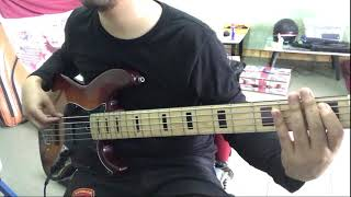 ปีกนางฟ้า Mola mola Sunshine! x Hers [ BASS COVER ]