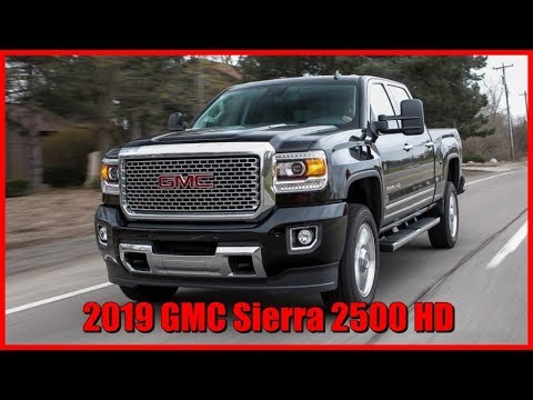 2019 GMC Sierra 2500 HD Picture Gallery - YouTube