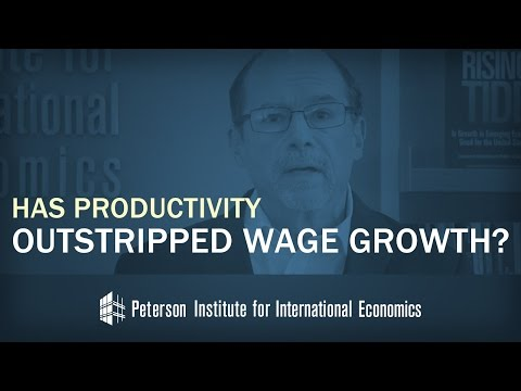 Has Productivity Outstripped Wage Growth?