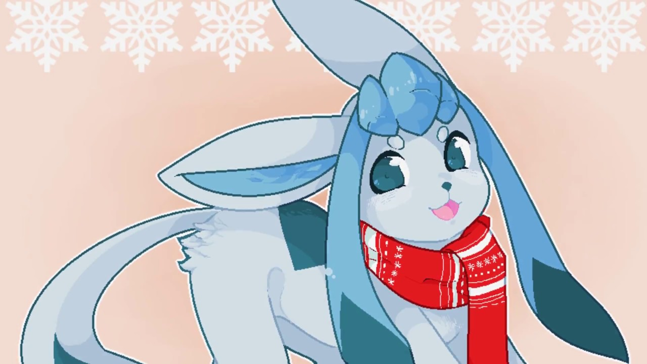 Chibi Glaceon Speed Paint [MSPAINT]