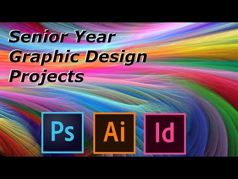 2016-17 Graphic Design Projects