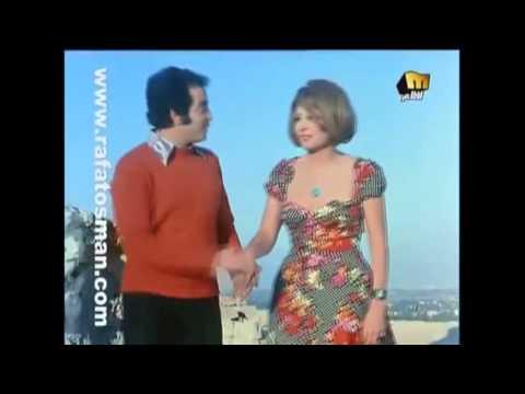 سهير رمزى ونور الشريف  والطقم الأحمر والحب والبوس والرومانسيه من فيلم