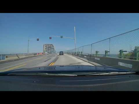 Crossing From Buffalo To Canada Via Peace Bridge