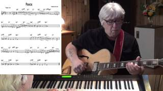 Peace - Jazz guitar & piano cover ( Horace Silver )
