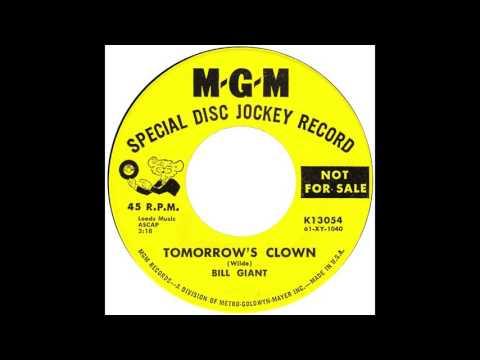 """Bill Giant – """"Tomorrow's Clown"""" (MGM) 1962"""