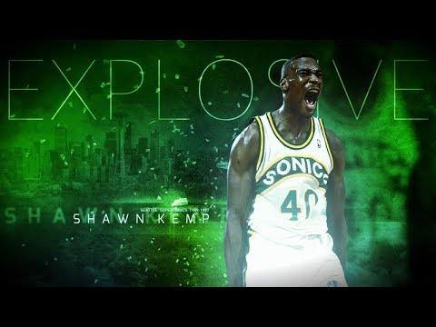 Shawn Kemp  Explosive Reignman
