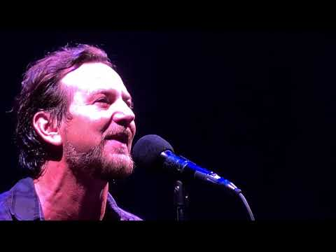 Pearl Jam  I Wont Back Down Tom Petty  Safeco Field August 10, 2018