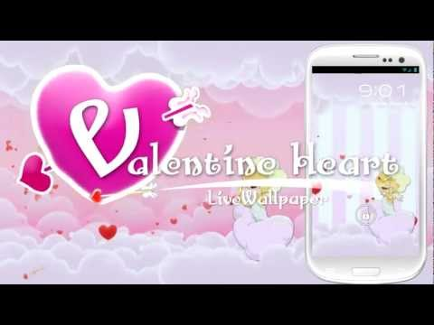 Valentine Heart Live Wallpaper - Free Android LW App