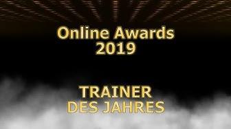 Online Awards 2019 - Trainer des Jahres